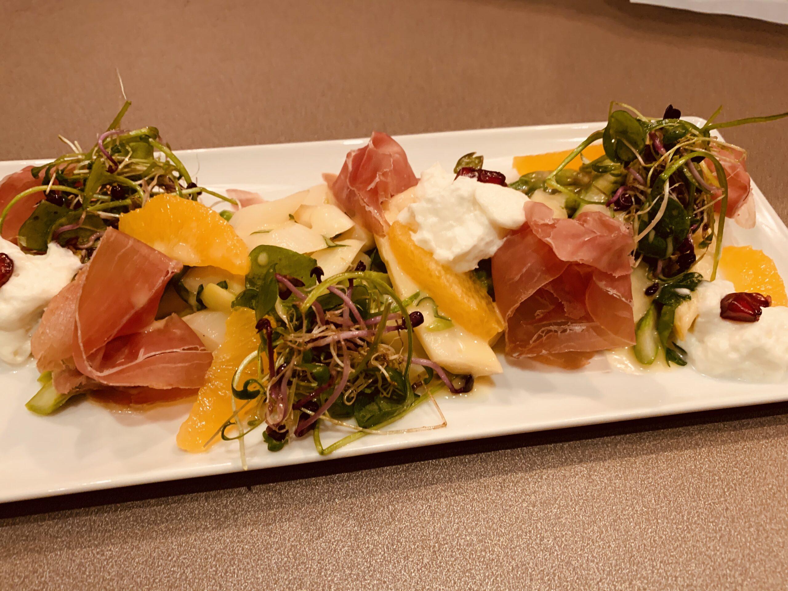 Spargelsalat Kupferkessel Restaurant Hitzkirch Seetal