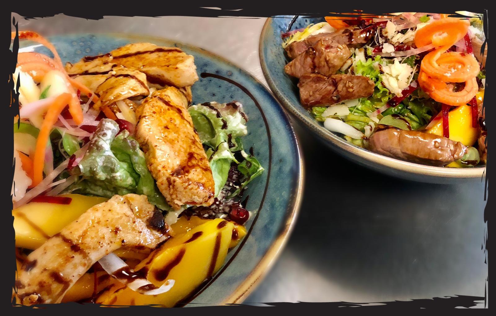 Salatbowle Restaurant Kupferkessel Hitzkirch Seetal