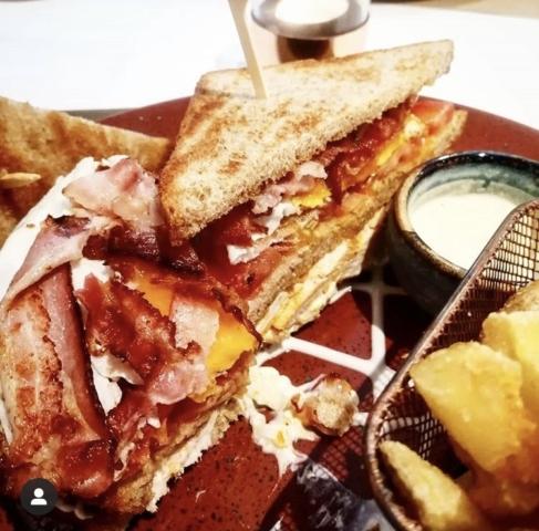 Club Sandwich , classic Sandwich , Restaurant Seetal